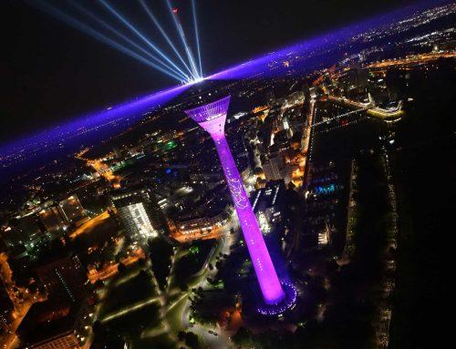 Luftaufnahmen für den Telekom 5G Spot